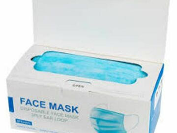 Buy Now: 1000 Non-Medical 3-Ply Disposable Face Masks