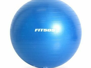 SALE: Stability Fitness Exercise Ball with Anti-Burst Material 55cm
