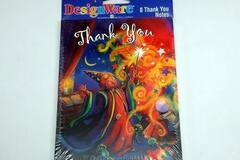 Buy Now: Pack Of 8 – Wizard Themed Thank You Notes With Envelopes – Only 5