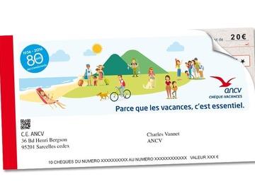Vente: Chèques vacances (300€)