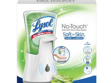 SALE: Lysol No-Touch Hand Soap