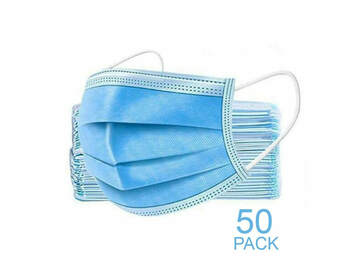 SALE: Disposable Face Mask (Pack of 50)