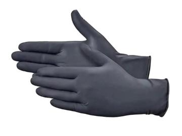 SALE: Black Latex Gloves Industrial