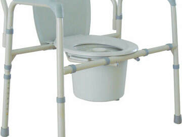 SALE: Bariatric Folding Commode | Buy in Toronto | Pickup or Delivery