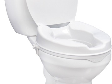SALE: Raised Toilet Seat 4″ with Lid | Buy in Toronto