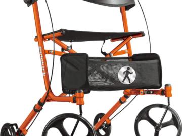 SALE: Hugo® Sidekick™ Side-Folding Rolling Walker with a Seat