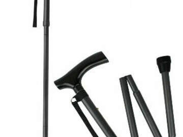 SALE: Aluminium Folding Adjustable Cane