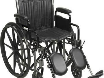 SALE: Drive Silver Sport 2 Wheelchair (Detachable Desk Arm)