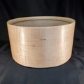 "Selling with online payment: Famous Drum Company Curly Maple Single Ply Snare Shell 14"" x 7.25"