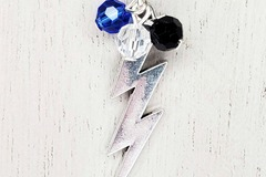 Selling with online payment: Tampa Bay Lightning Bolts Necklace