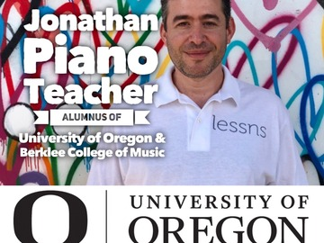 Piano - 60 Minute: (in-person or SKYPE/ZOOM) Piano lessns - Berklee College of Music