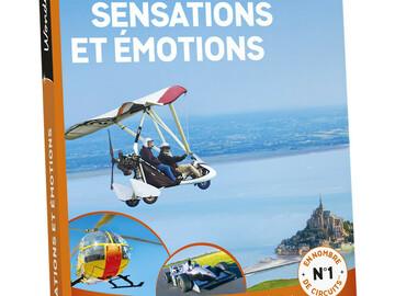 """Vente: Coffret Wonderbox """"Sensations et émotions"""" (99,90€)"""