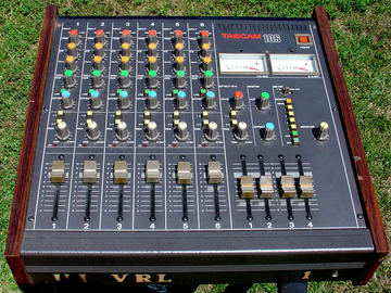 Selling with online payment: TASCAM model 106 mixer 6 inputs and 4 outputs Exc working cond.