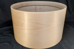 "Selling with online payment: Famous Country Maple 12"" x 7 1/4"" single ply tom shell"