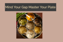 Services: Health Initiatives: Mind Your Gap Master Your Plate