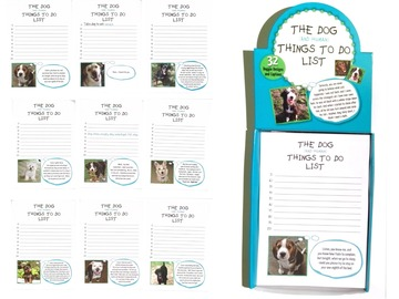 Buy Now: Things To Do List Doggy Note Pads Item#3008