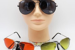Buy Now: Dozen Metal Frame Aviator Style Sunglasses #P968
