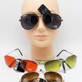 Liquidation/Wholesale Lot: Dozen Metal Frame Aviator Style Sunglasses #P968