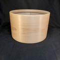 "Selling with online payment: 10"" x 6 & 1/4"" Famous Drums Maple Single Ply Tom Shell"