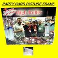 "Buy Now: ""High Roller"" Party Card Picture Frame With Easel- Holds A 5″ X 7"