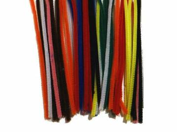 Buy Now: Pack Of 48 – Chenille Kraft 8″ Stems Pipe Cleaners (Assorted Colo