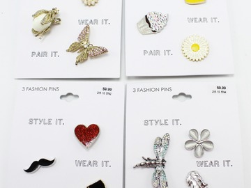 Buy Now: Dozen Fashion Pin Brooch Sets by Target
