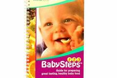 """Liquidation/Wholesale Lot: Kidco """"Baby Steps"""" Baby Feeding Instruction Book For Preparing He"""