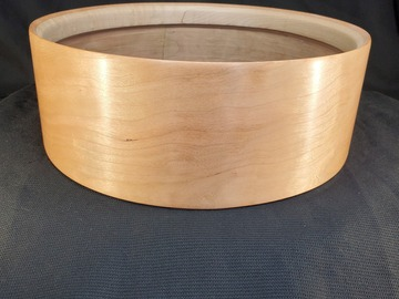 Selling with online payment: Famous Drum Company Cherry 5x14 single ply snare shell