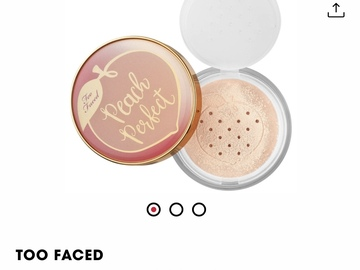 Buscando: Buscando Too Faced polvos sueltos Peach Perfect