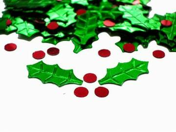 Buy Now: Holly And Berries Confetti – Only 25 Cents/Pack