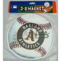 Buy Now: Licensed MLB OAKLAND ATHLETICS TEAM 3-D MAGNET