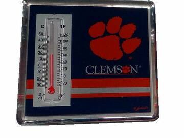 Buy Now: Licensed NCAA CLEMSON TIGERS THERMOMETER MAGNET