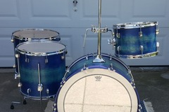 Selling with online payment: Infinity Drumworks Vintage Mahogany drum set