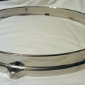 """Selling with online payment: Noble & Cooley die-cast hoop 10"""" 6-hole USA made"""