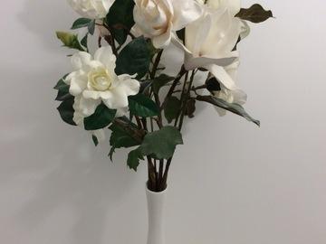 Vente: Vase + fleurs