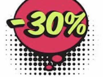 Buscando: Liquidación!! 30% de descuento en todo!! A aplicar