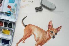 : Custom Pet Portrait - Commission Painting