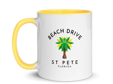 Selling with online payment: Beach Drive Mug St Pete