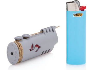 Post Now: Wrapper Hemp Wick Lighter ( Standard BIC )