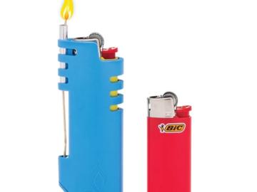 Post Now: Spooly Hemp Wick Lighter (Mini Bic)