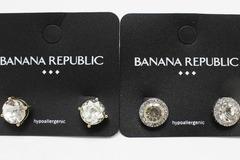 Buy Now: Dozen Banana Republic Rhinestone Stud Earrings