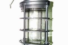 Liquidation/Wholesale Lot: Pinnacle 100W Vapor-Proof Cage Pendant Light 3/4 Inch Hub – Item