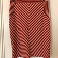 Selling: Red and white skirt Medium