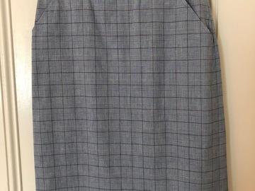 Selling: Multicoloured pencil skirt Medium