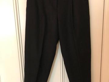 Selling: Wool black pants Medium