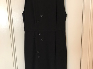 Selling: Black dress with embellishments