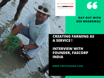 Free Listing: Day out with Dev Bhardwaj, our next Paryavaran Star!
