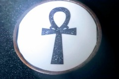 For Sale: Ankh Resin Necklace
