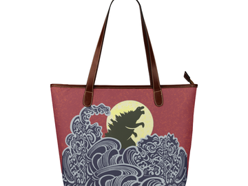 Selling with online payment: Kaiju Karry All - King of the Monsters Godzilla Purse/Bag