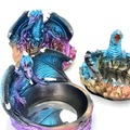 Buy Now: 24 Assorted Dragon Ashtrays - Polyresin - Fast Profits